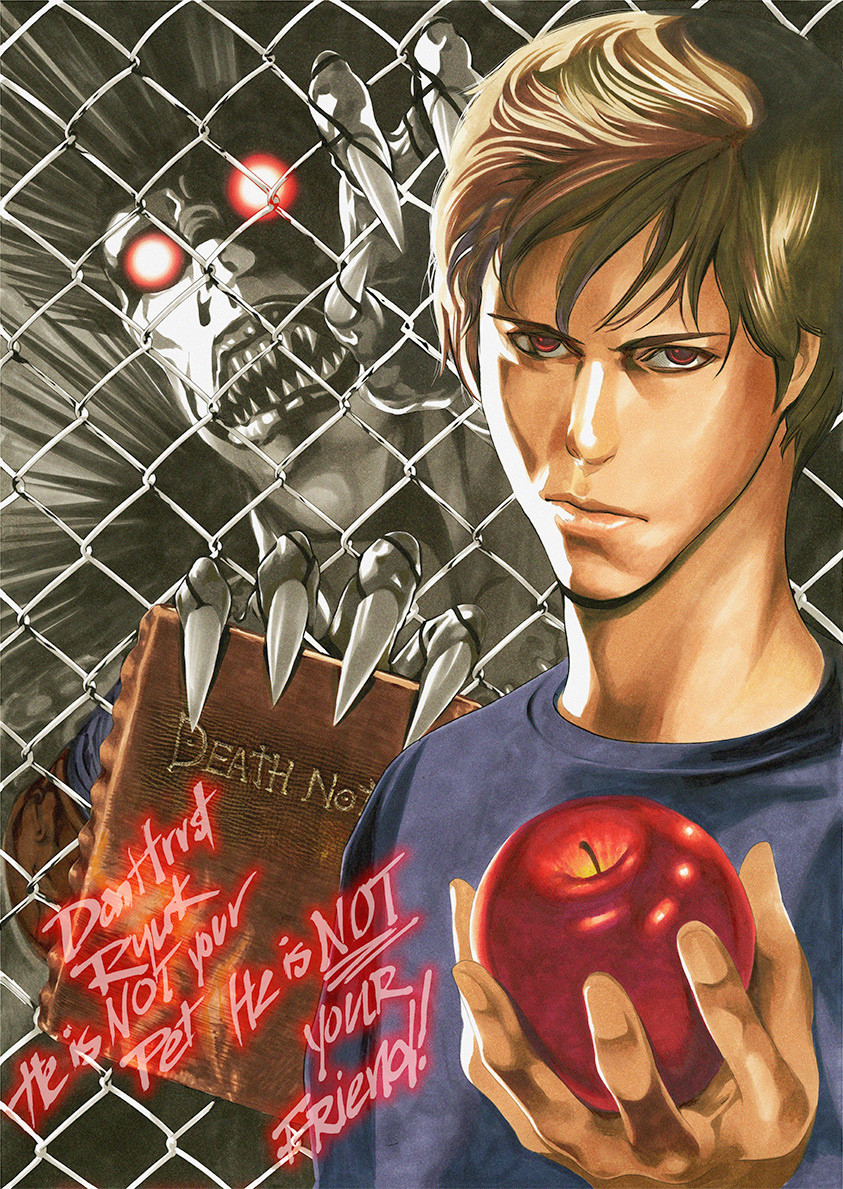 Special Death Note Illustration Released In Honor Of Movie