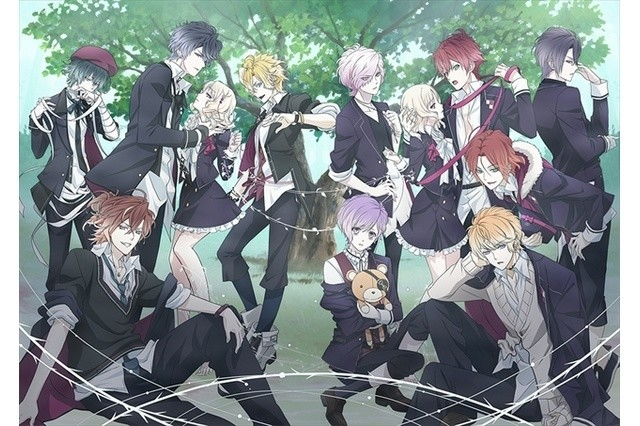 Anime OpenCurlyDoubleQuoteDiabolik Lovers More Bloodrdquor First Broadcast To Air On ATX