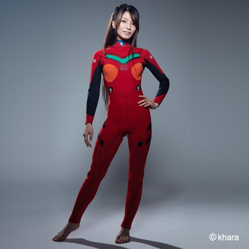 Evangelion Wetsuit Asuka Tokyo Otaku Mode Shop