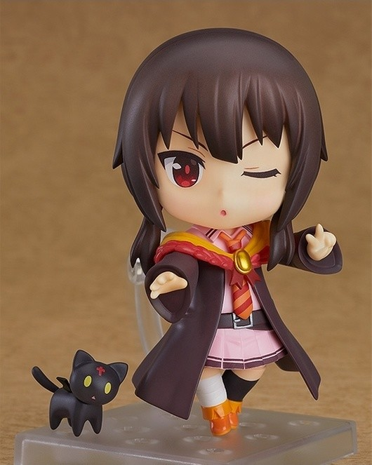 Megumin of KonoSuba Rocks School Uniform for New Nendoroid!