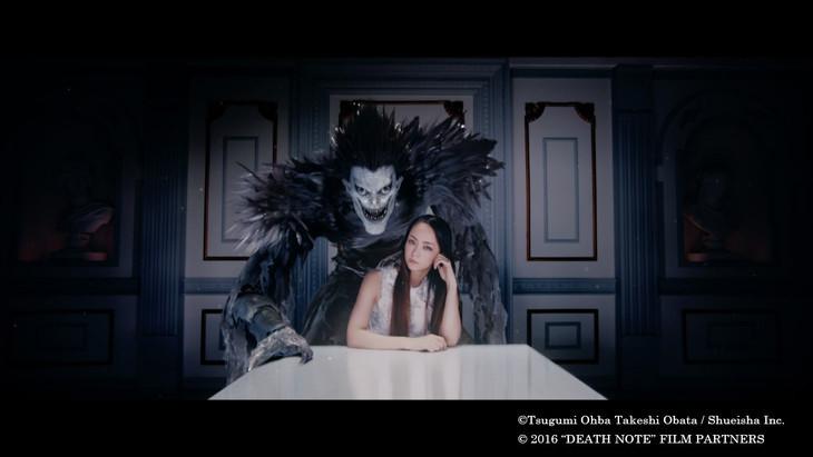 Death Note Shinigami Appear In Amuro Namie S New Mv Tokyo
