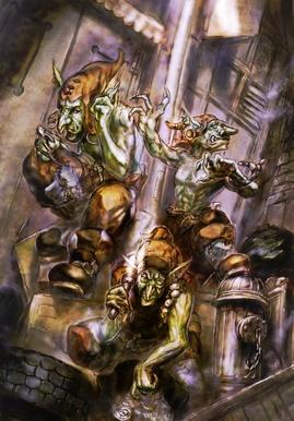Goblins in the back alleys