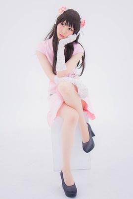 Chinese Dress (Pink)