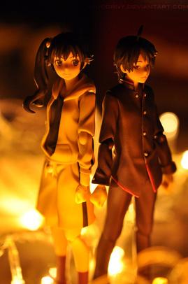 Karen and Koyomi
