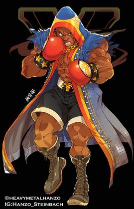 Street Fighter V-Balrog/M.Bison