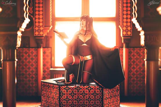 Tharja (Fire Emblem Awakening) Cosplay By Calssara