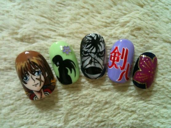 Rurouni Kenshin Nails!