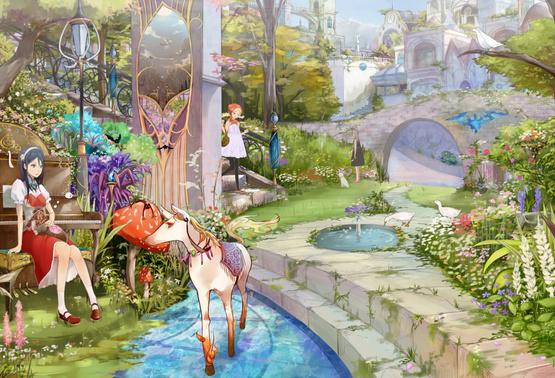 A Fantasy Garden
