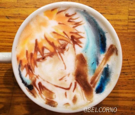 Latte Art [Ichigo Kurosaki] Bleach