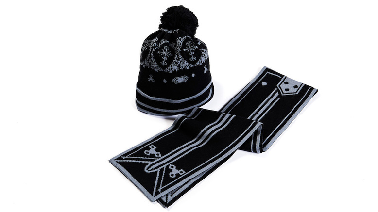 SAO Scarf & Beanie: Kirito model (For Delivery Outside of Japan)