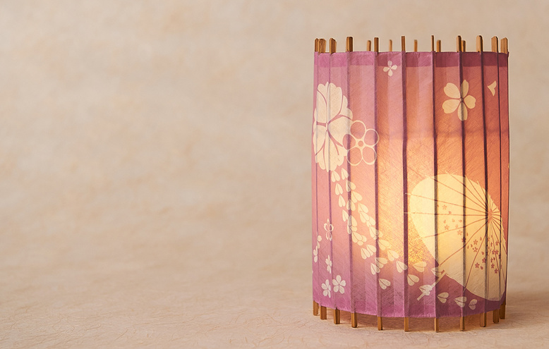【THE IDOLM@STER CINDERELLA GIRLS Japanese Style Light Shade】 KOTORI Sae Kobayakawa Model (Ships Internationally)