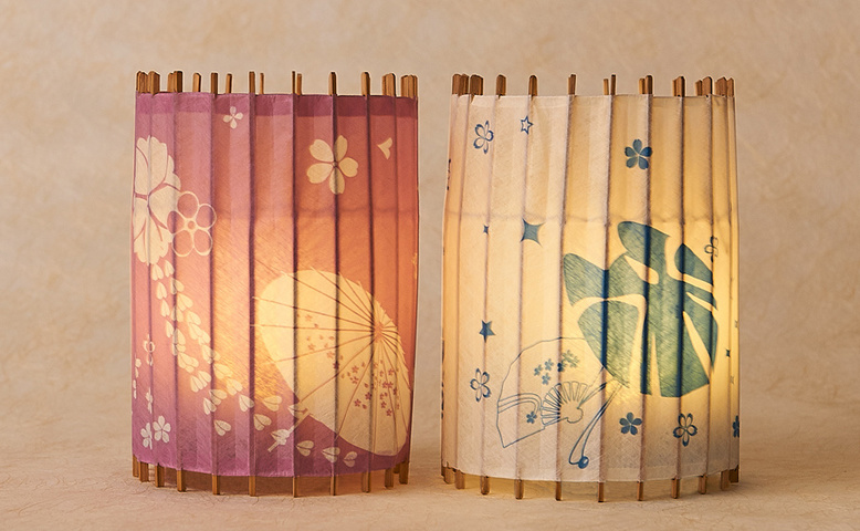 【THE IDOLM@STER CINDERELLA GIRLS Japanese Style Light Shade】 KOTORI Hagoromo Komachi sets (Ships Internationally)
