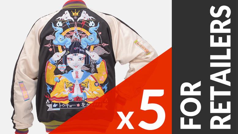 Tokyo Sukajan 5-Piece Set For Retailers