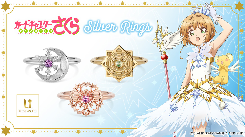 Cardcaptor Sakura - Clear Card - Silver Rings