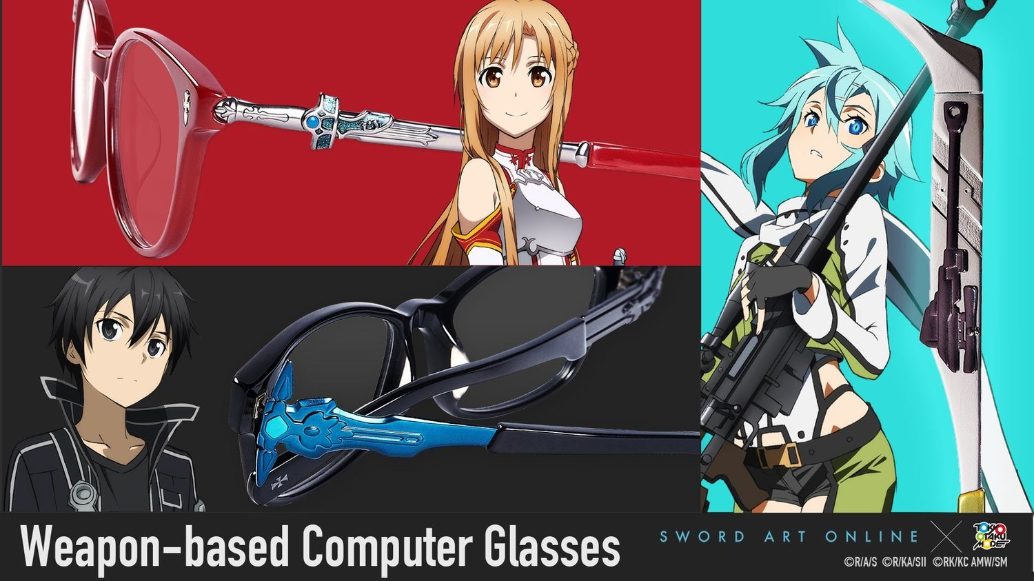 [SAO x TOM] Sword Art Online Weapon-based Computer Glasses