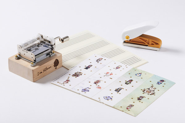 "[Re-release] ""I am Setsuna"" Paper-Tape Music Box(Ships Internationally)"