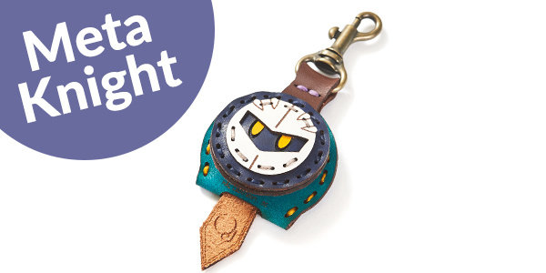 Key Cover: Meta Knight + 1 Key Charm of your choice (For Delivery Outside of Japan)