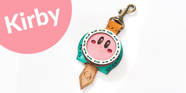 Key Cover: Kirby + 1 Key Charm of your choice (For Delivery Outside of Japan)