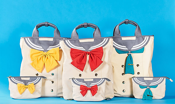 Love Live! Sunshine!! Sailor Backpack and Pouch Set of 3 (For Delivery Outside of Japan)