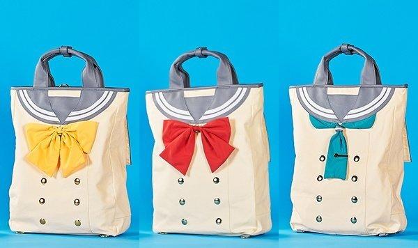 Love Live! Sunshine!! Sailor Backpack Set of 3 (For Delivery Outside of Japan)