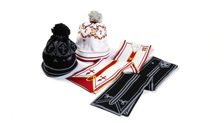 SAO Scarf & Beanie: Kirito & Asuna set (For Delivery Outside of Japan)