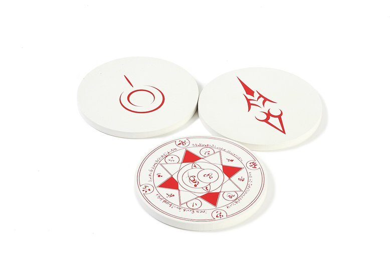 Fate Coasters: set of 2 (For Delivery Outside of Japan)