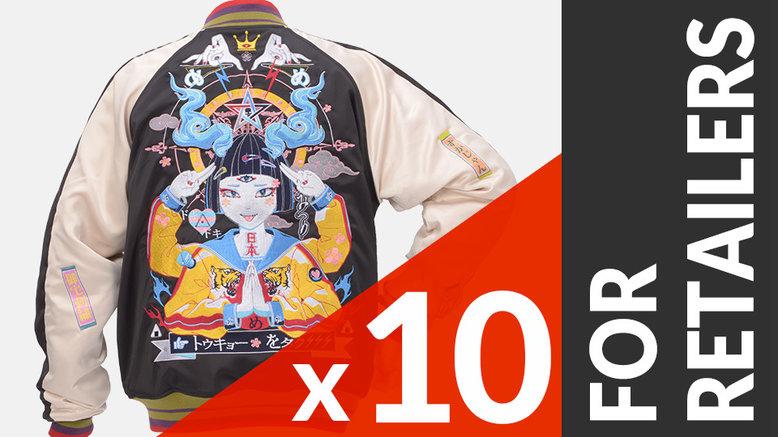 Tokyo Sukajan 10-Piece Set For Retailers
