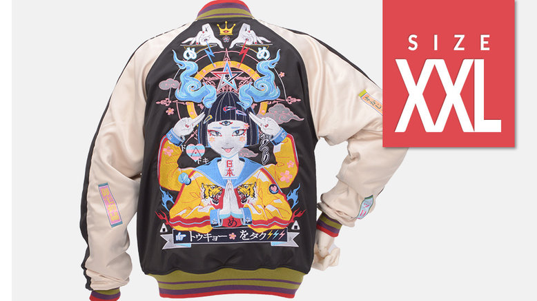 [Regular Price] Tokyo Sukajan (XXL Size)